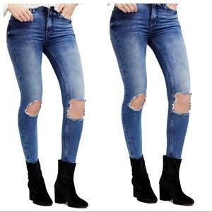 We the Free by Free People High Waist Skinny Jeans